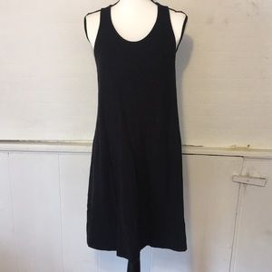 Eileen Fisher Black Organic Cotton Dress